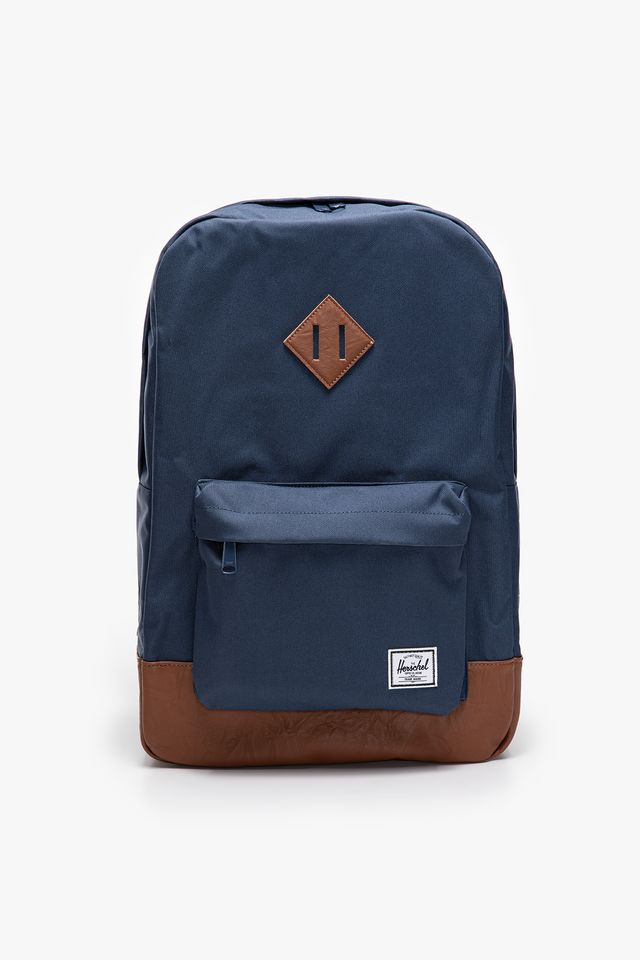 NAVY/TAN HERITAGE BACKPACK 00007