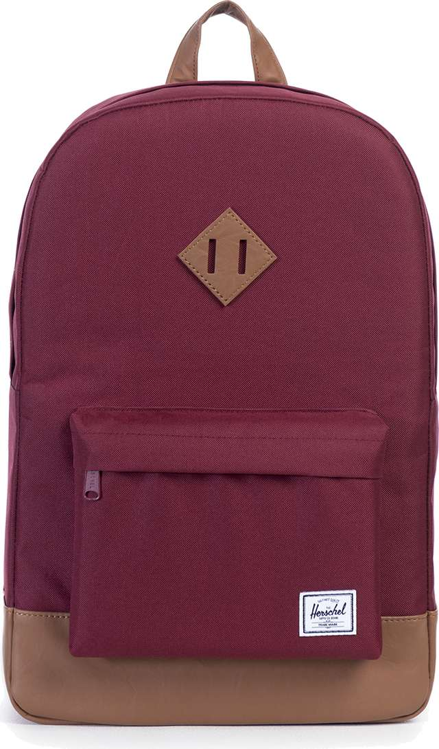 Herschel HERITAGE BACKPACK 00746 WINE/TAN 10007-00746