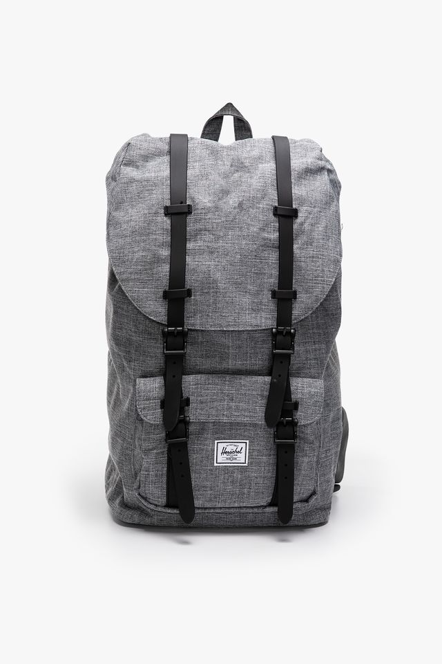 RAVEN CROSSHATCH / BLACK PLECAK 25 L Little America 10014-01132