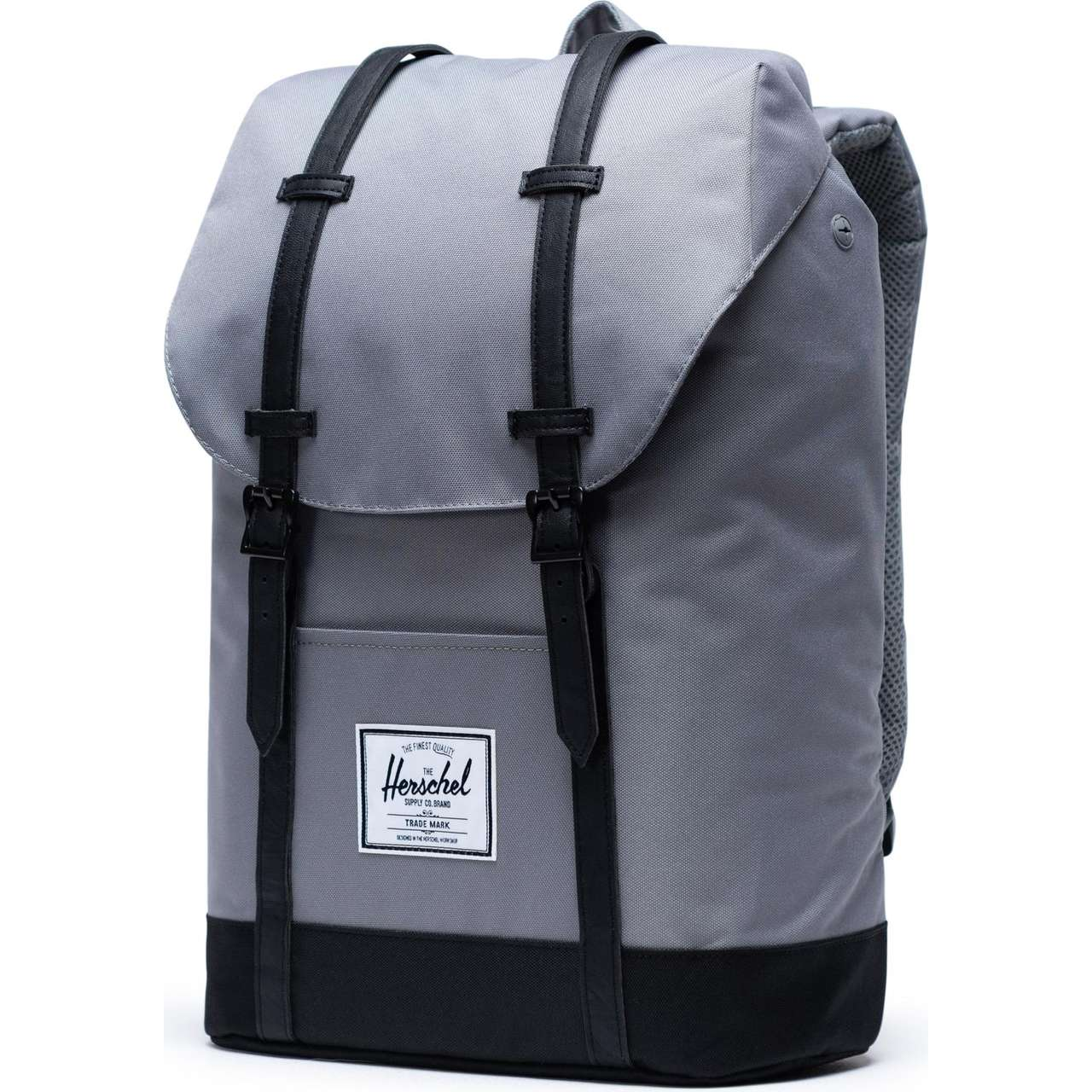 Plecak Herschel  <br/><small>Retreat Grey/Black </small>  10066-02998