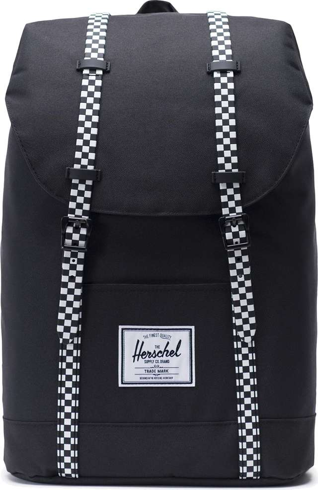 Herschel Retreat Black/Checkerboard 10066-02463