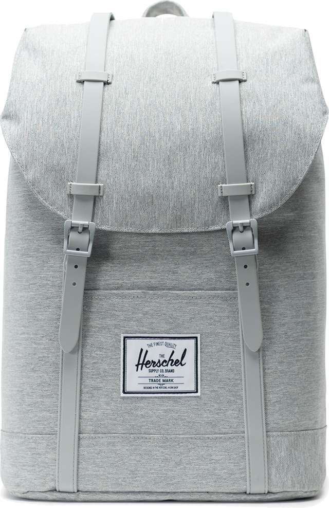 Herschel Retreat Light Grey Crosshatch Grey 10066-02041