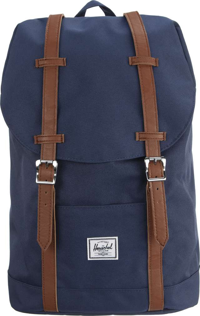 Herschel Retreat Mid-Volume 00007 NAVY/TAN 10329-00007