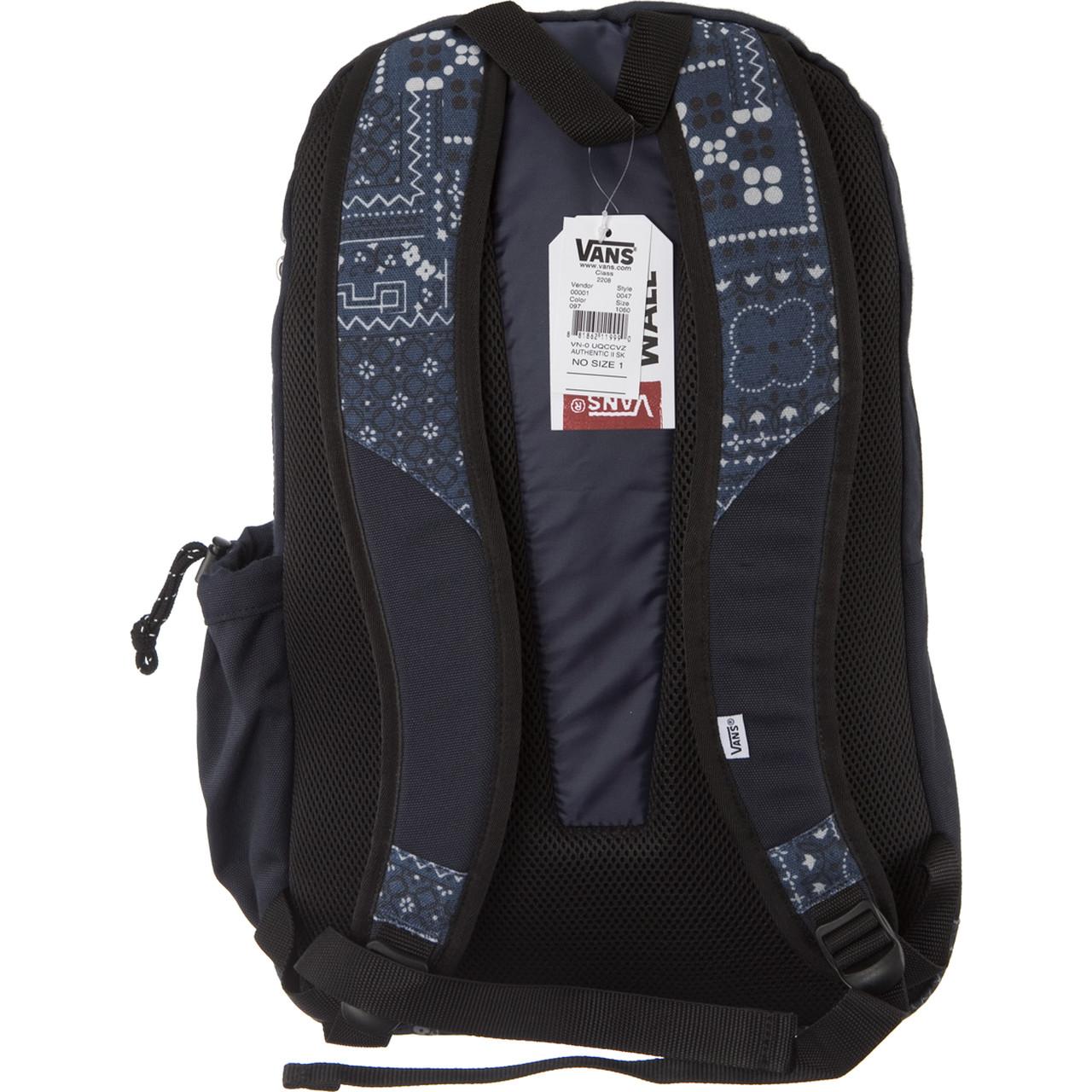vans authentic plecak
