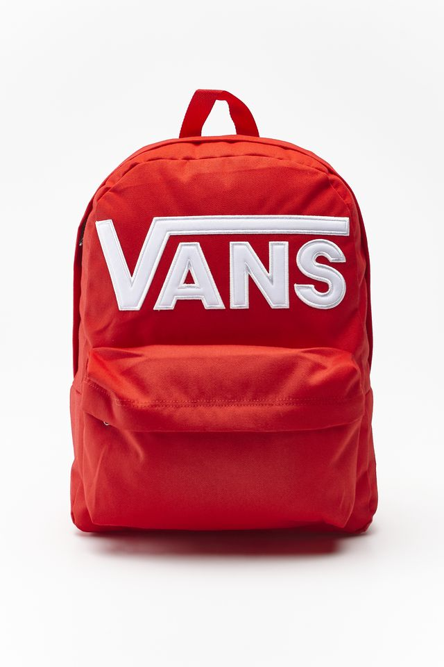RACING RED OLD SKOOL III BACKPACK IZQ