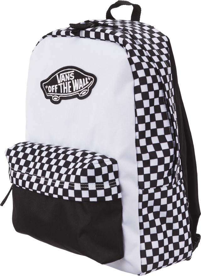 ddeaded903165 Plecak Vans <br/><small>REALM BACKPACK 56M BLACK/WHITE ...