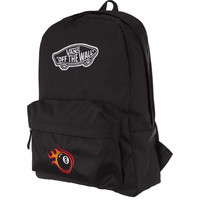 Vans REALM BACKPACK BLK BLACK EIGHT BE00NZ0BLKBE