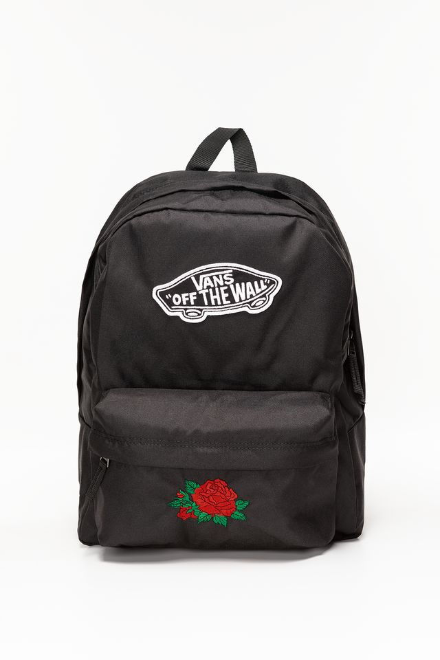 Vans REALM BACKPACK BLK CLASSIC ROSE CR00NZ0BLKCR