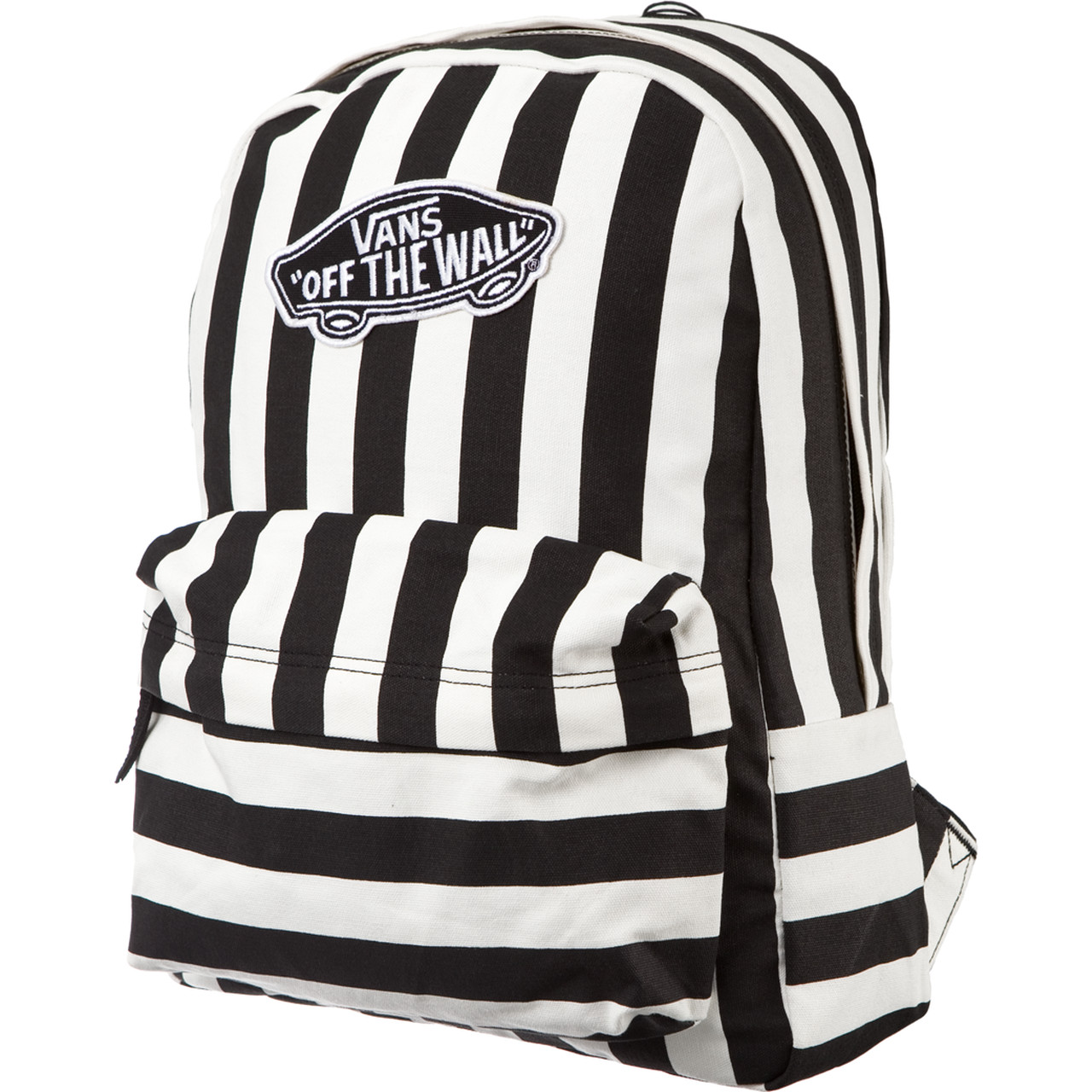 plecak vans czarno biały