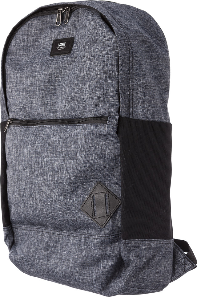 Plecak Vans  <br/><small>VAN DOREN III BACKPACK PM1 HEATHER BLACK SUITING </small>  VN0A2WNUPM11