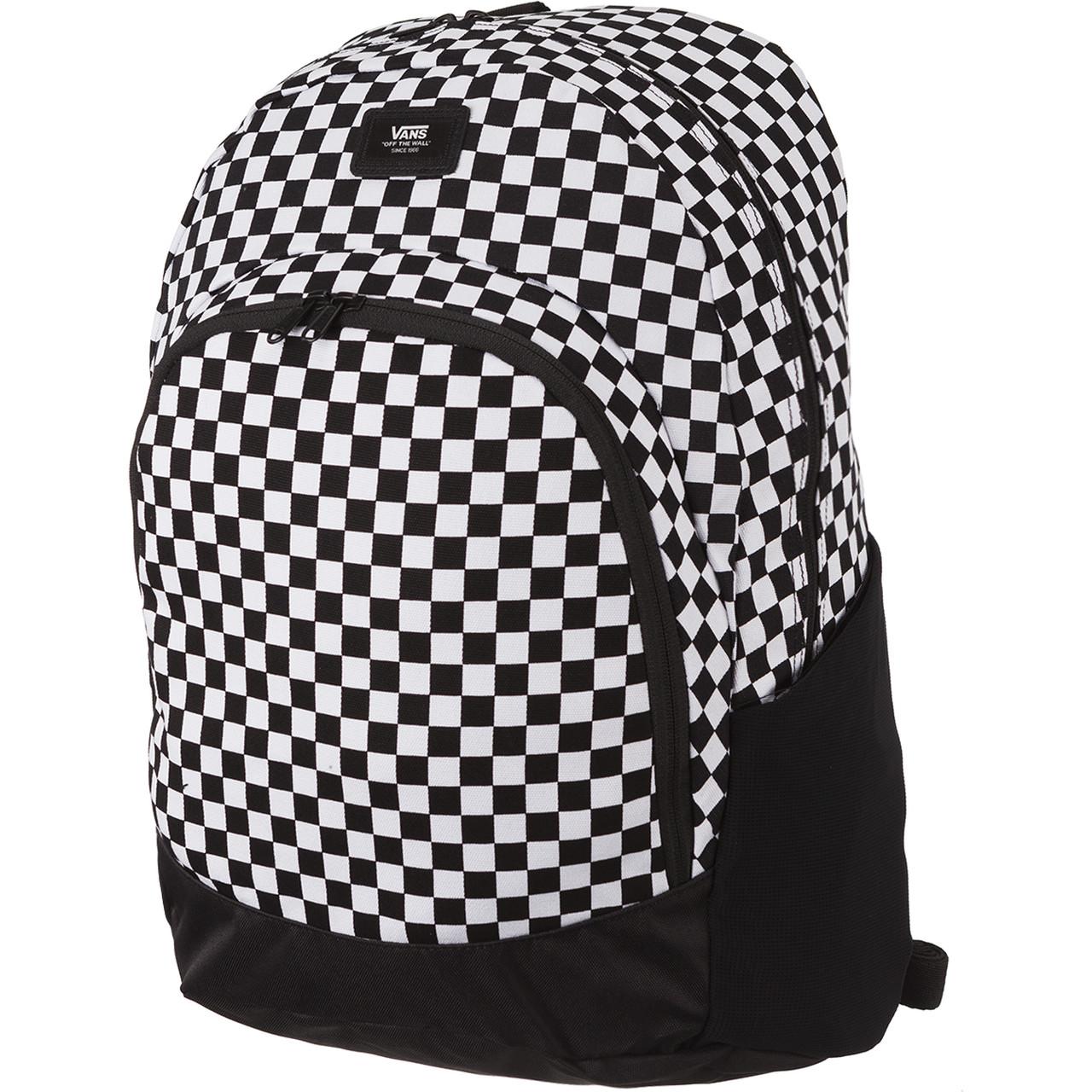 plecak vans biało czarny