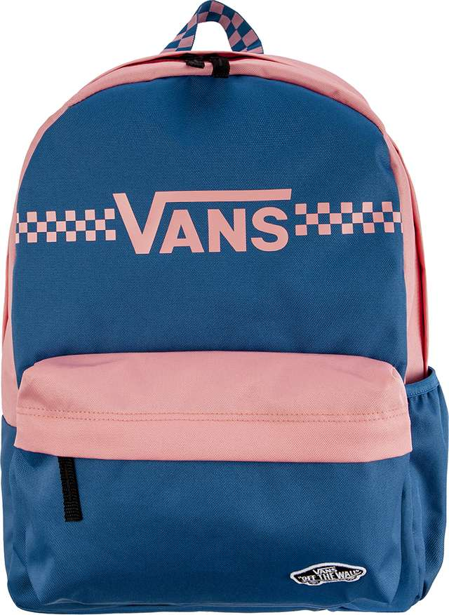 Plecak Vans  <br/><small>GOOD SPORT REALM BACKPACK UW7 SAPPHIRE BLUE/FUN TIMES </small>  VN0A3T7BUW71