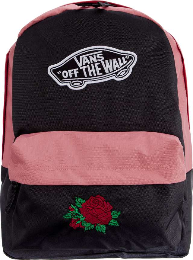Plecak Vans  <br/><small>WM REALM BACKPACK BURGUNDY CLASSIC ROSE </small>  BCRA3UI6YGIBCR