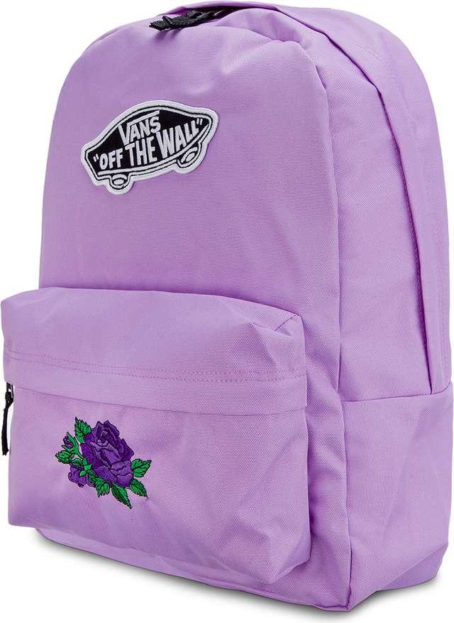 4ba2d53182b4b Plecak Vans <br/><small>WM REALM BACKPACK Violet CLASSIC ROSE ...
