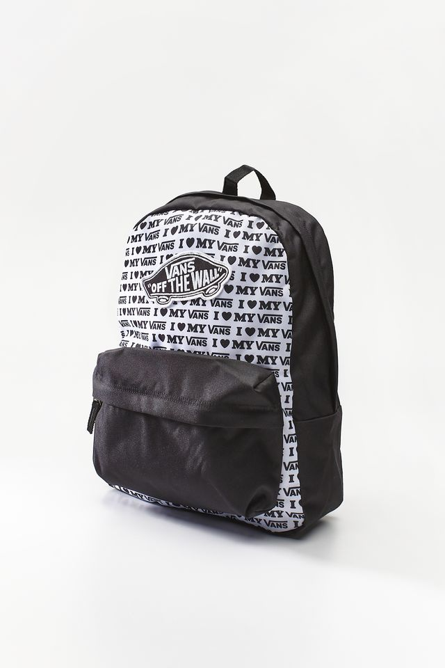 Vans REALM BACKPACK UVP BLACK/VANS LOVE VN0A3UI6UVP1