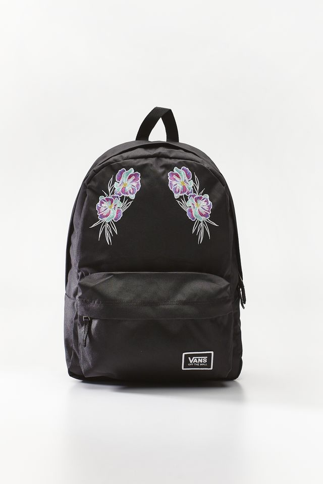 Vans REALM CLASSIC BACKPACK UU9 BLACK/PARADISE FLORAL VN0A3UI7UU91