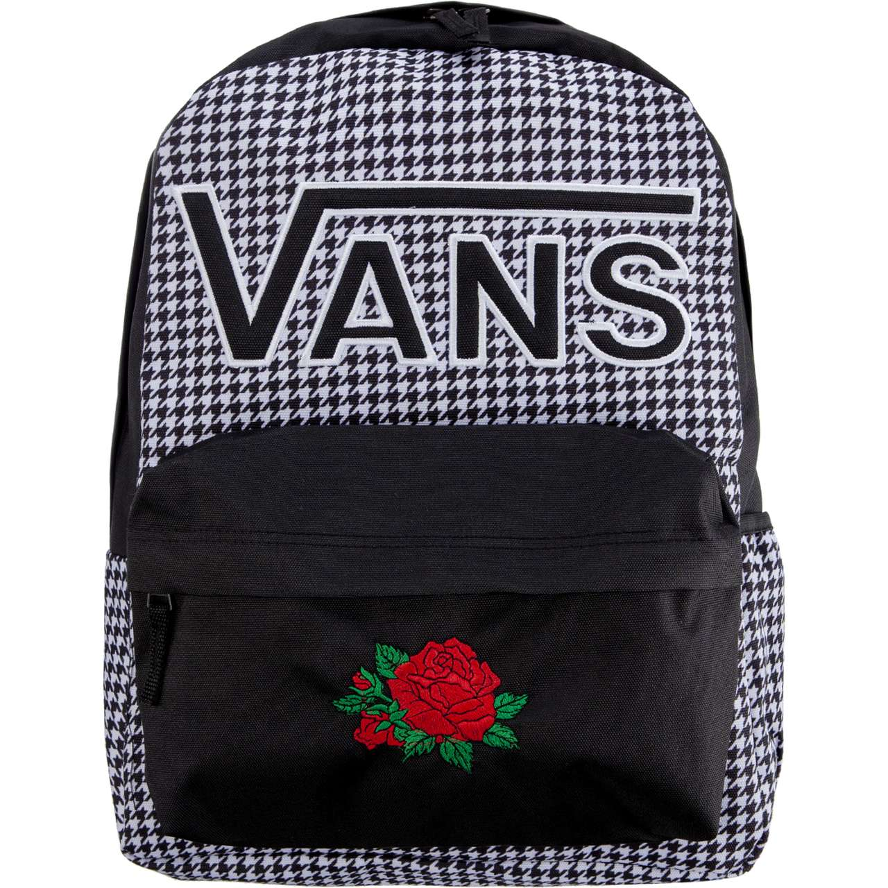 Plecak Vans  <br/><small>WM REALM FLYING V BA HOUNDSTOOTH CLASSIC ROSE </small>  VCRN0A3UI8YERCR