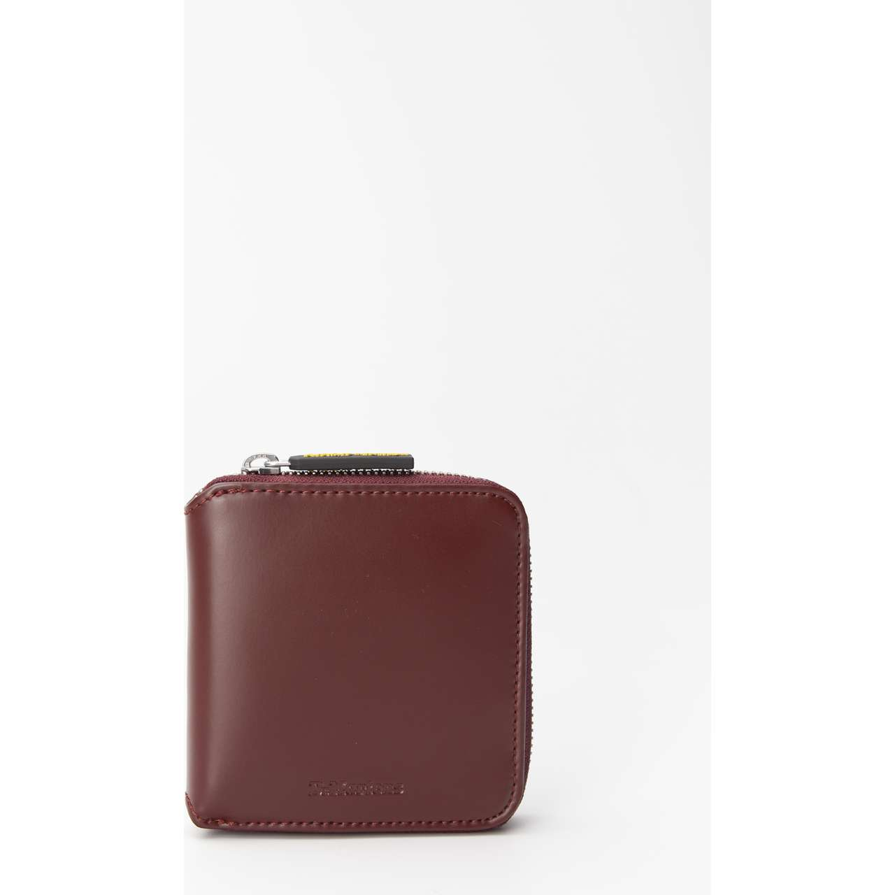 Portfel Dr. Martens  <br/><small>LEATHER ZIP WALLET 601 CHERRY RED KIEV </small>  DMAC698601