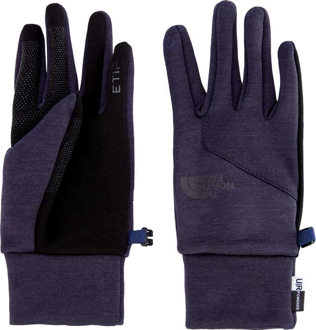 The North Face WOMEN'S ETIP GLOVE URBAN NAVY/HEATHER T93KPPAVM