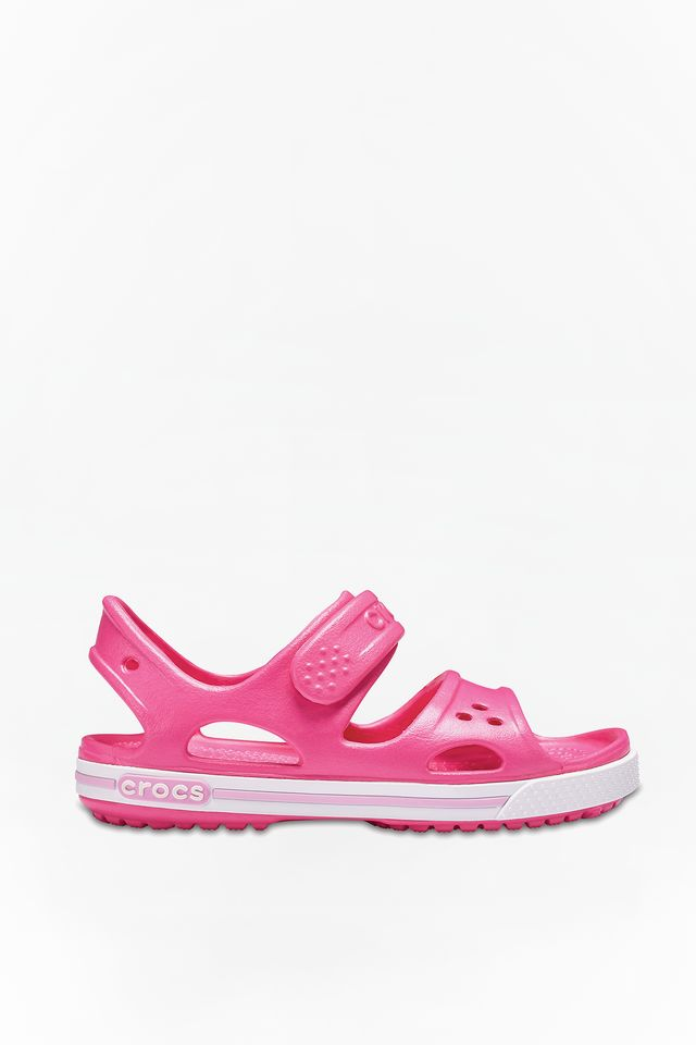 PINK/CARNATION CROCBAND II SANDAL PS 66I