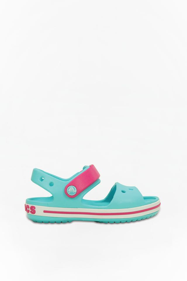 POOL/CANDY PINK CROCBAND SANDAL KIDS 4FV