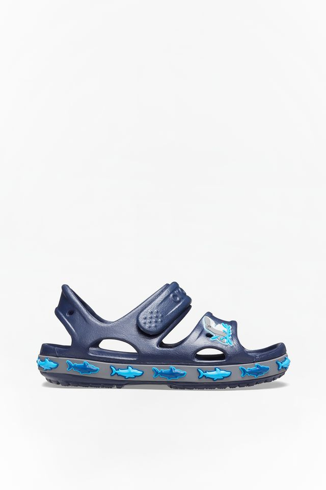 Crocs FUN LAB SHARK BAND SANDAL 410 NAVY 206365-410
