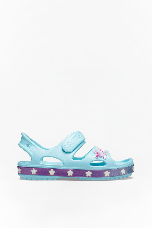 Crocs FUN LAB UNICORN CHARM SANDAL4O9 ICE BLUE 206366-4O9