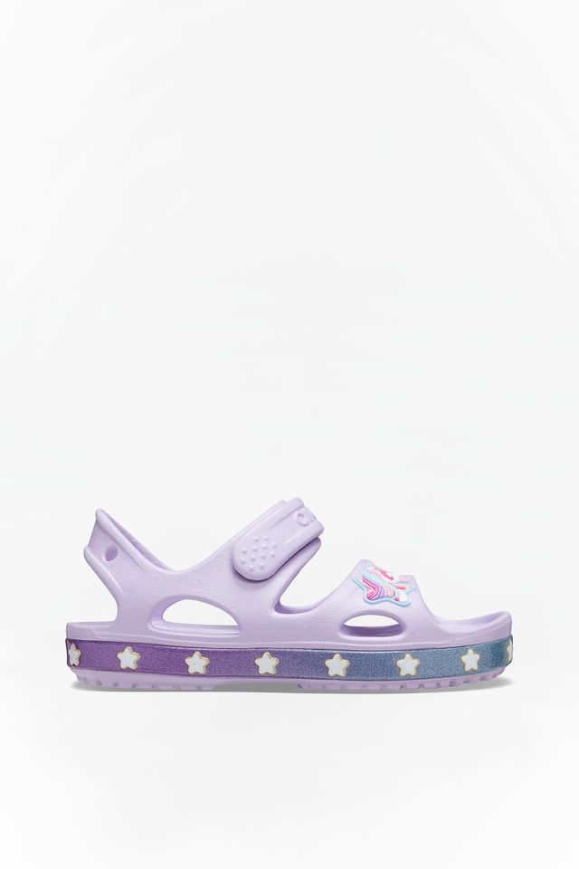 Crocs FUN LAB UNICORN CHARM SANDAL 530 LAVENDER 206366-530