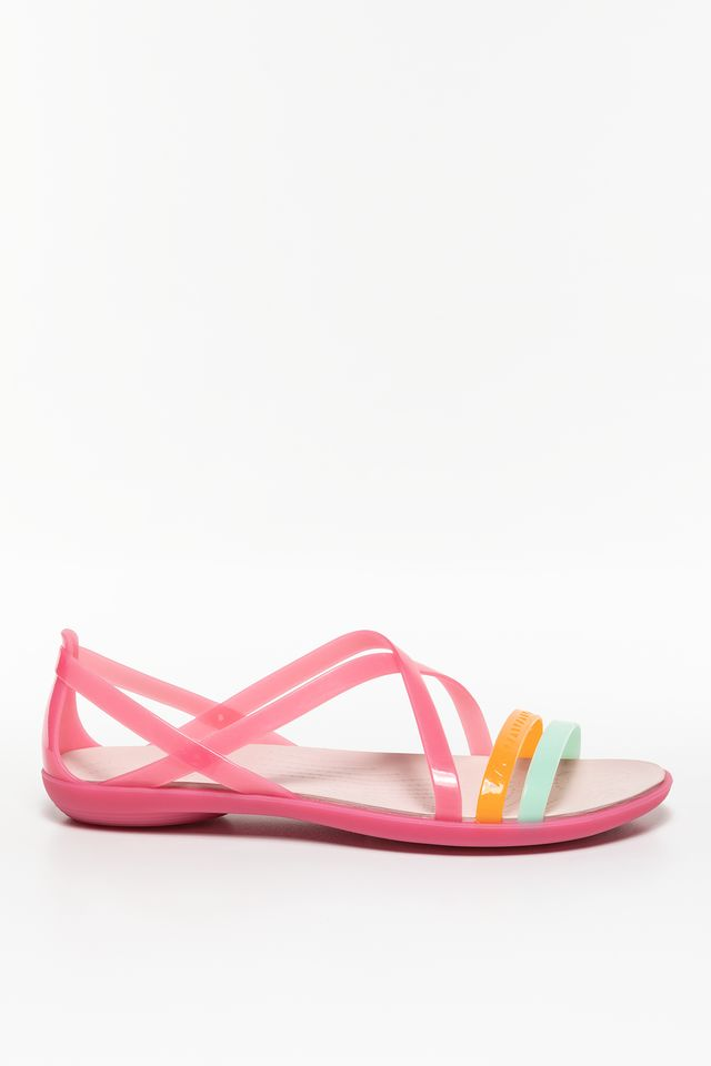 Crocs ISABELLA CUT STRAPPY SANDAL W PARADISE PINK/ROSE DUST 205149-6NU