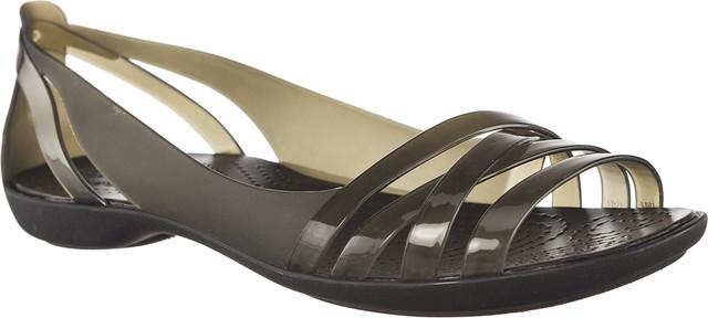 Crocs ISABELLA HUARCHE 2 FLAT W BLACK/BLACK 204912-060