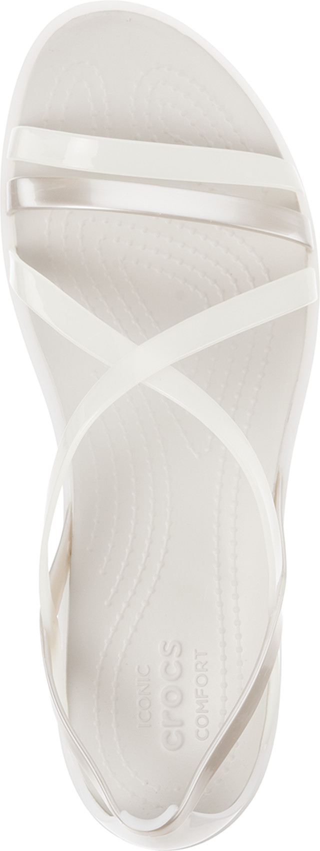 Sandały Crocs  <br/><small>ISABELLA STRAPPY SANDAL OYSTER/PEARL WHITE </small>  204915-17B