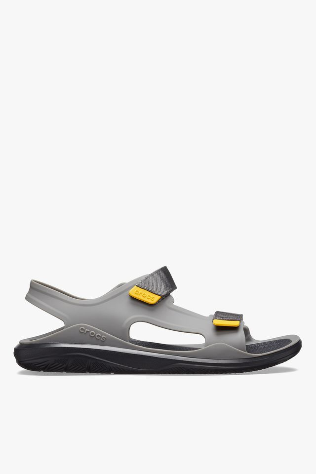 GREY/BLACK SANDAŁY SWIFTWATER MOLDED EXPEDITION SANDAL SLATE GREY/BLACK 206526-0DY