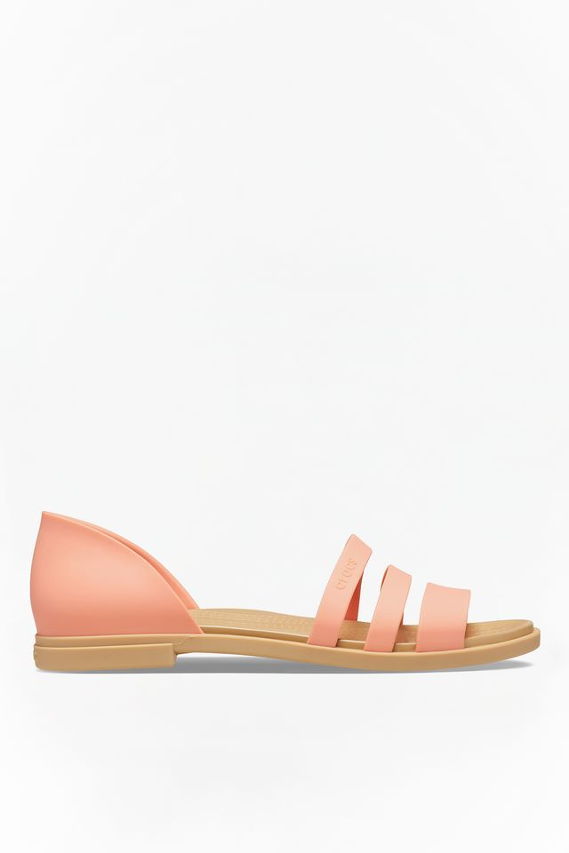 GRAPEFRUIT/TAN TULUM OPEN FLAT W 82R