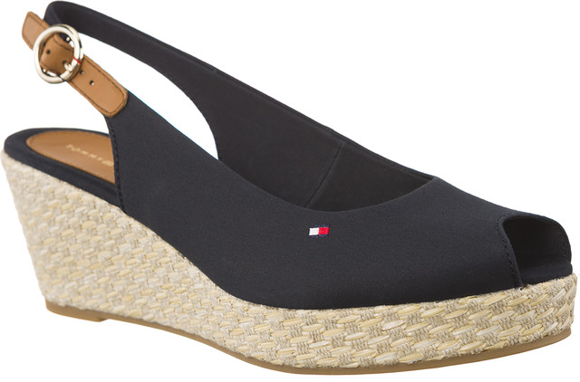 Tommy Hilfiger ICONIC ELBA BASIC SLING BACK 403 MIDNIGHT FW0FW02788-403