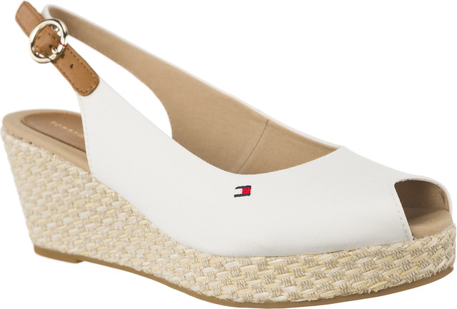 Tommy Hilfiger ICONIC ELBA BASIC SLING BACK 121 WHISPER WHITE FW0FW02788-121