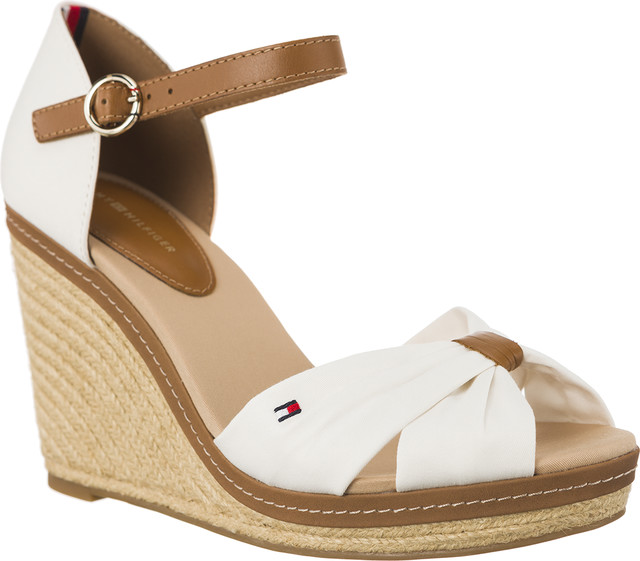 Tommy Hilfiger ICONIC ELENA SANDALS 121 WHISPER WHITE FW0FW00905-121