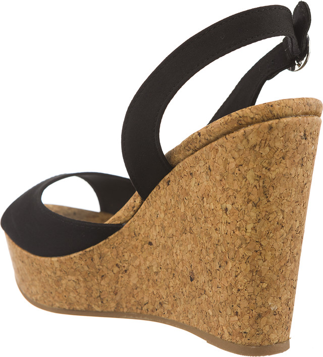 ... Sandały Tommy Hilfiger  br   small WEDGE WITH PRINTED STRIPES 990 BLACK  ... 6a76f115e51