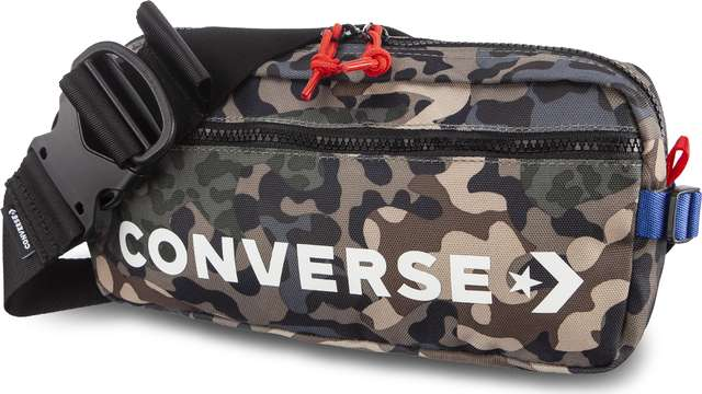 Converse HIP PACK A02 OLIVE SUBMARINE/BLACK 10006947-A02