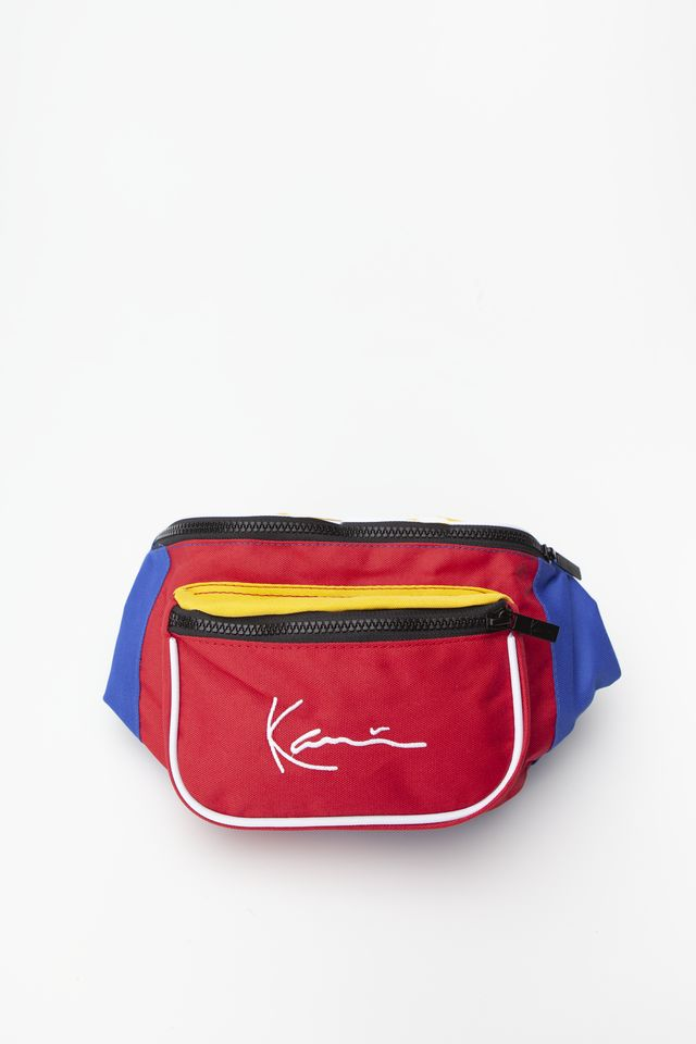Karl Kani SIGNATURE BLOCK WAIST BAG 631 RED/BLUE/YELLOW 4004631