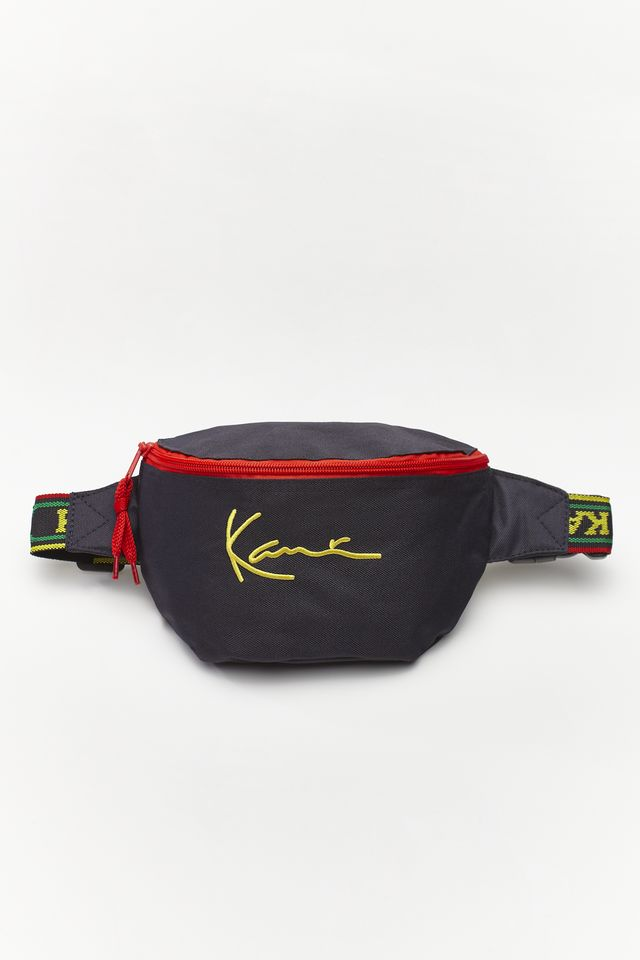 Karl Kani SIGNATURE WAIST BAG NAVY/YELLOW/RED 4104053