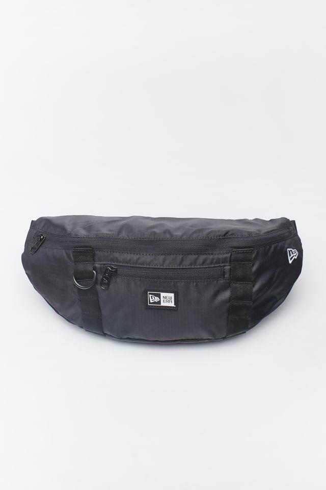 New Era WHITE LOGO WAIST BAG 335 BLACK 12145335