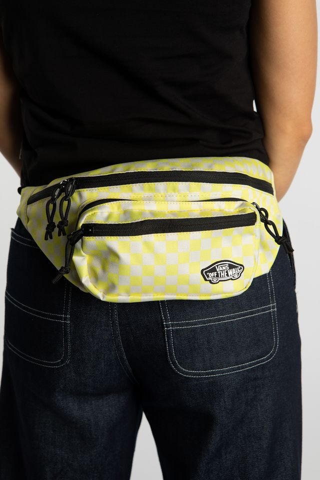 Vans STREET READY WAISTBAG VD7 LEMON TONIC CHECKERBOARD VN0A47QEVD71