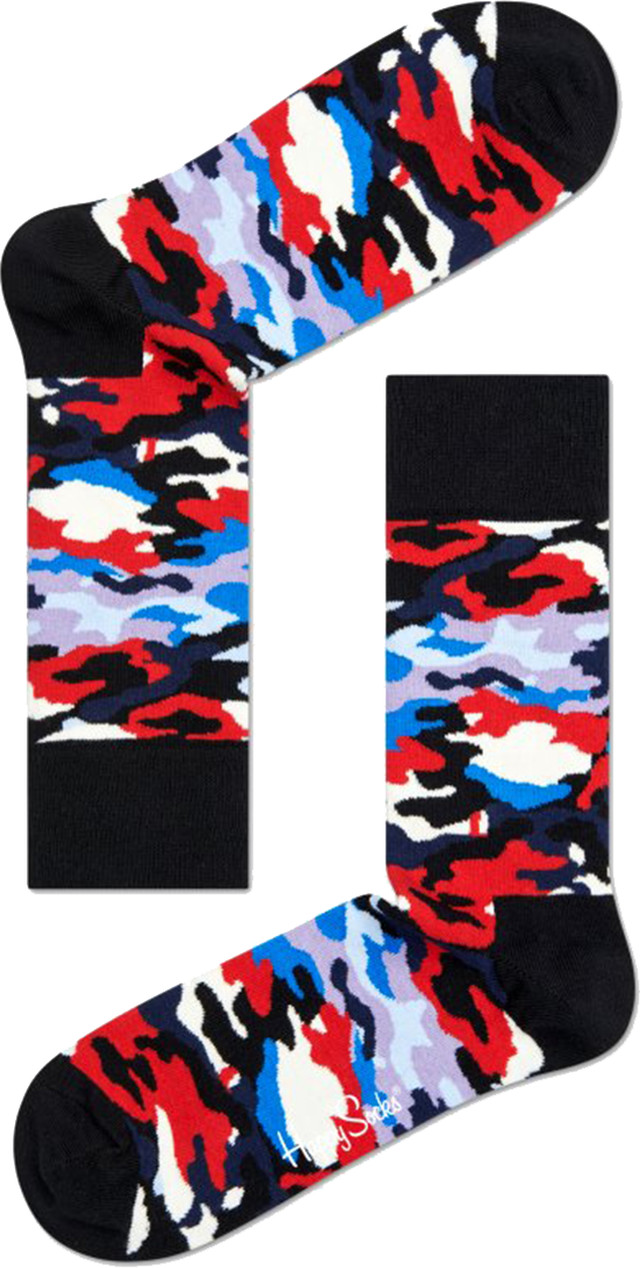 Happy Socks Camo Sock BC01-099 1206