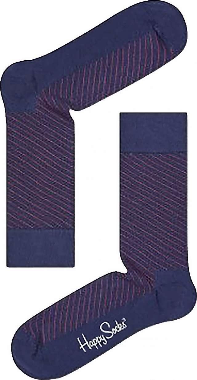 Happy Socks Diagonal Thin Stripe Sock DTS01-9001 4269