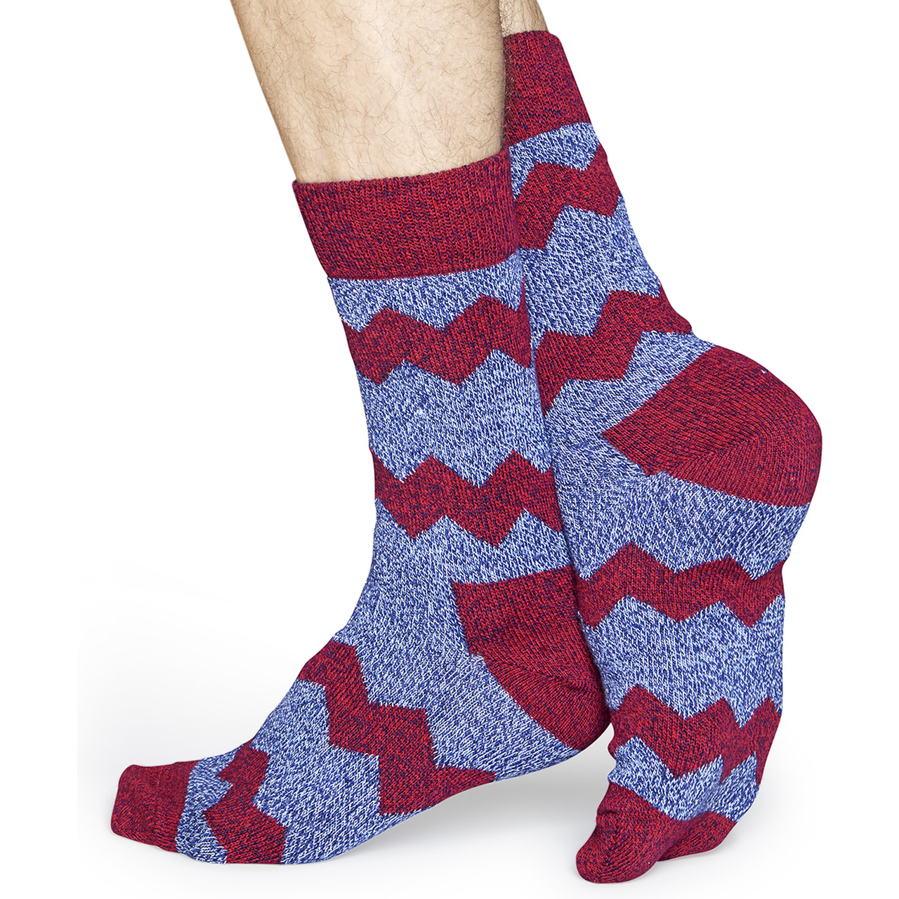 Skarpety Happy Socks  <br/><small>Wool Zig Stripe Sock WZST22-6000 </small>  4878