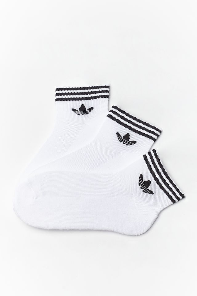 adidas 3Pack  TREFOIL ANKLE SOCKS HC 152 WHITE EE1152
