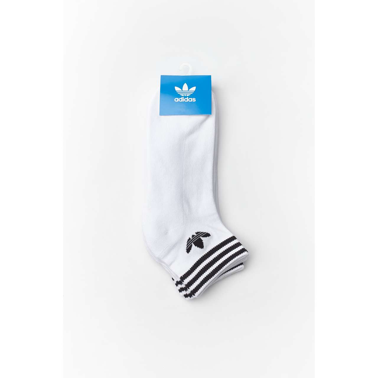 Skarpety 3Pack adidas  <br/><small>TREFOIL ANKLE SOCKS HC 152 WHITE </small>  EE1152