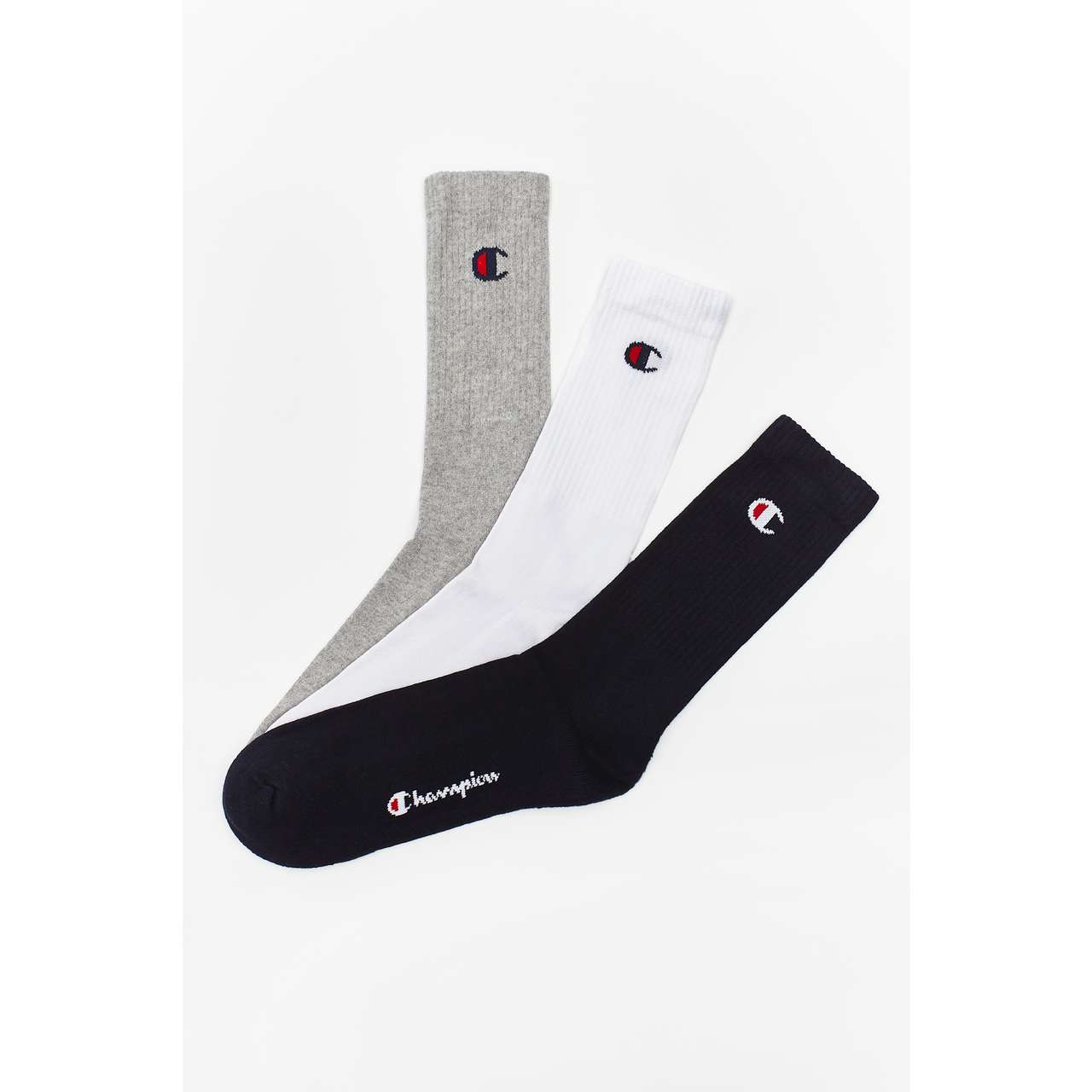Skarpety 3Pack Champion  <br/><small>CREW SOCKS BS517 NNY/WHT/OXGM </small>  804618-BS517