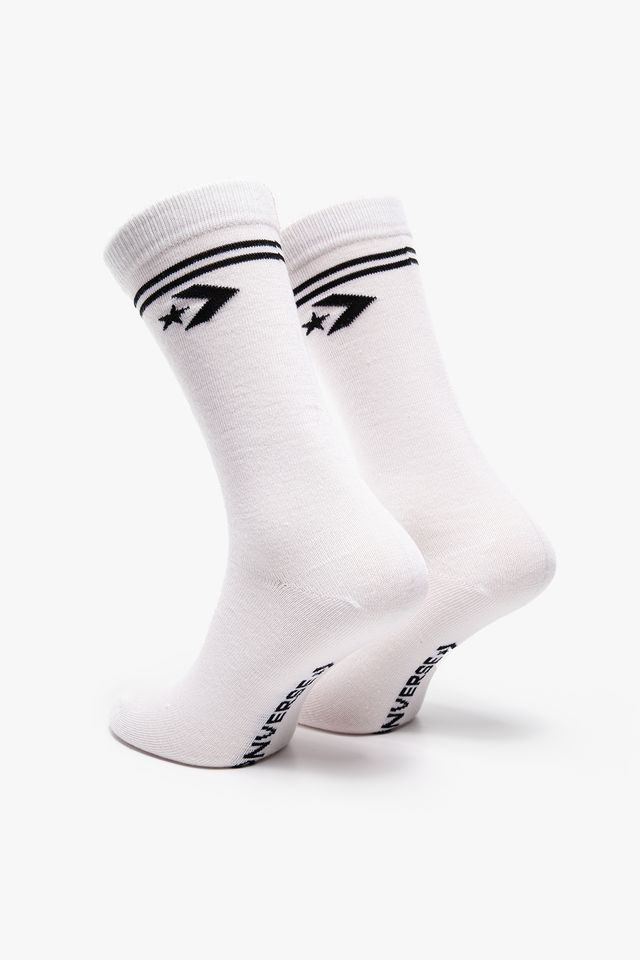 WHITE/BLACK SOCKS 2-PACK 2010