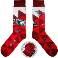 Cup Of Sox Crows Gang Science Fishion Socks B